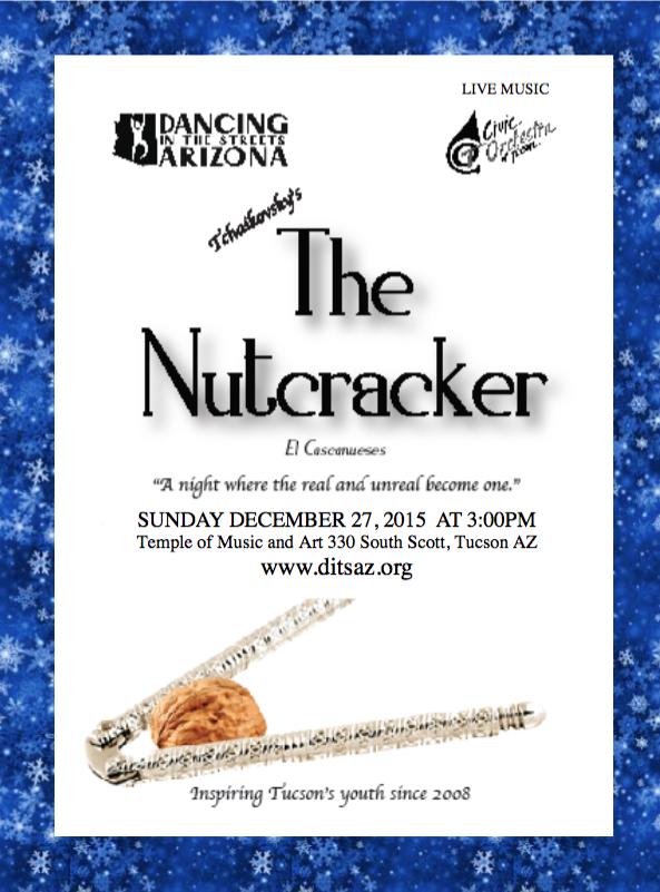 Nutrcracker 2015 Flyer