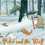 Peter and the Wolf performance poster