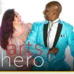 Arts Hero magazine photo of Joey and Soleste