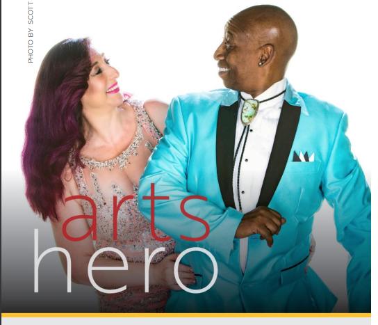 Arts Hero Nominees… Joey and Soleste!