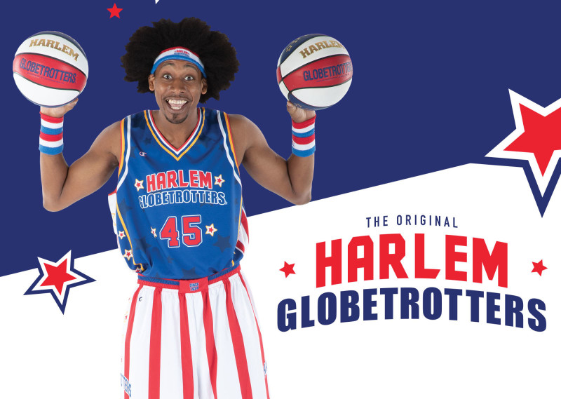 DITSAZ Teams up with the World Famous Harlem Globetrotters!